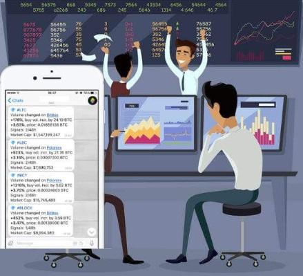 Как работают сигналы криптовалют в Телеграмм