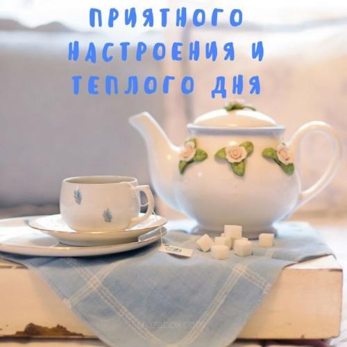 нежная открытка с теплыми пожеланиями