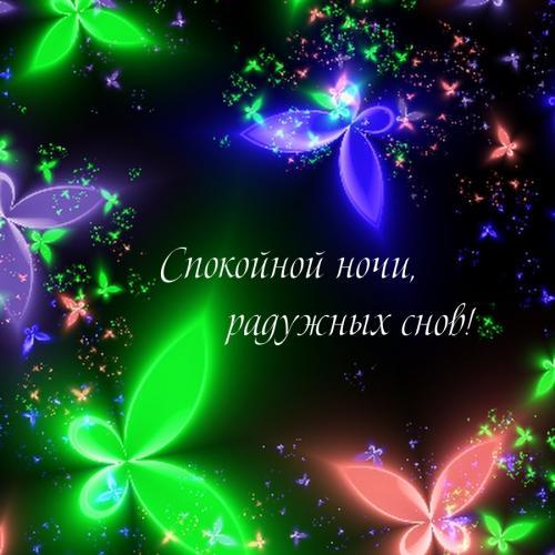 Спокойной ночи, радужных снов!.