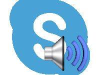 настройка звука в Скайпе